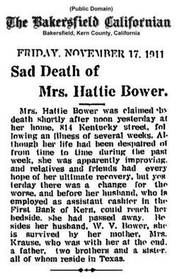 Hattie Bower