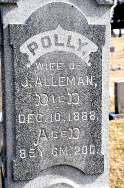 Mary Polly <i>Crall</i> Alleman