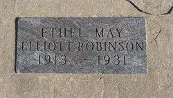 Ethel May <i>Elliott</i> Robinson