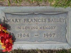 Mary Frances Bailey