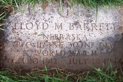 PFC Lloyd M. Barrett