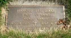Sgt Harold Lee Diko