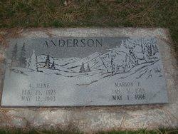 Alice Ilene <i>Lance</i> Anderson