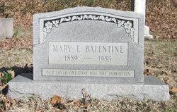 Mary Ethel <i>George</i> Balentine