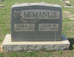 Cora C. <i>Brooks</i> McManus