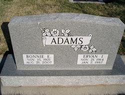 Ervan Ira Adams