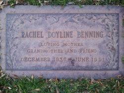Rachel Doyline Benning