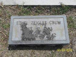 Ethel <i>Zeigler</i> Crum