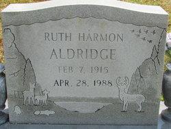 Ruth Elizabeth <i>Harmon</i> Aldridge