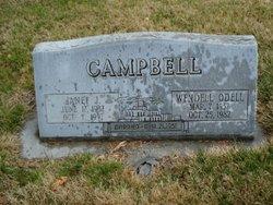 Janet Juanita <i>Curtis</i> Campbell