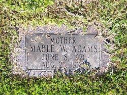 Mable W. Adams