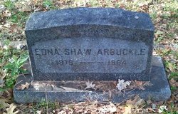 Edna Pearl <i>Shaw</i> Arbuckle