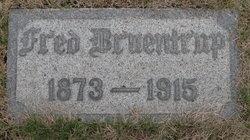 Frederick William A Fred Bruentrup