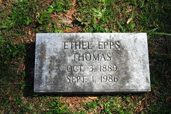 Ethel <i>Epps</i> Thomas