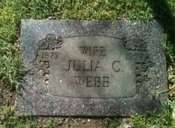 Julia C. <i>Riggs</i> Webb