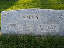 Barbara N Ames