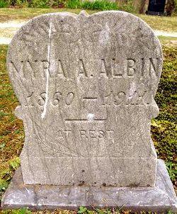 Almira A. Myra <i>Howell</i> Albin