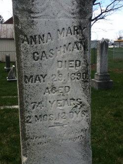 Anna Mary Hannah <i>Thomas</i> Cashman
