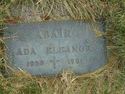 Ada Eleanor Abair