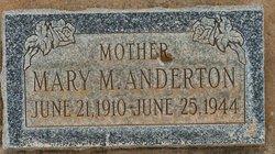 Mary Anderton