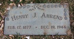 Henry John Ahrend