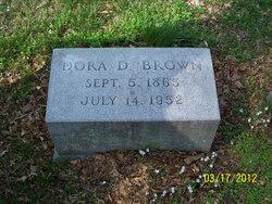 Dora <i>Dole</i> Brown