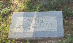 Myra Beatrice <i>Bates</i> Mittel