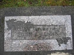 Edith Ida Adeline <i>Schulz</i> Bergen