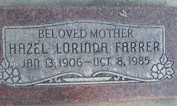 Hazel Lorinda Farrer