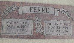 Naoma <i>Lamb</i> Ferre