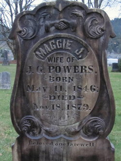 Margaret Jane Maggie <i>Smith</i> Powers