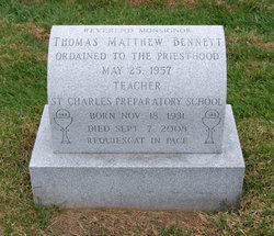 Fr Thomas Matthew Bennett