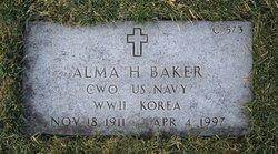 Alma Helene Baker