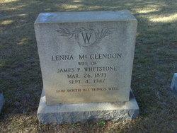 Lena <i>McClendon</i> Whetstone