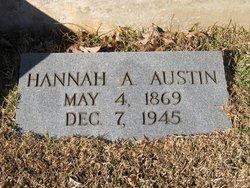 Hannah Louise <i>Autrey</i> Austin