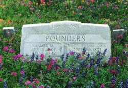 Mary Susan <i>Cain</i> Pounders