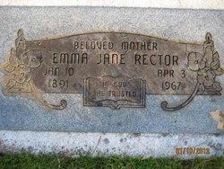 Emma Jane <i>Bynum</i> Rector