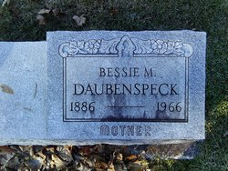 Bessie M <i>Gipe</i> Daubenspeck