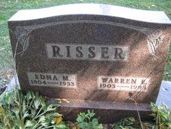 Edna Marie <i>Eby</i> Risser