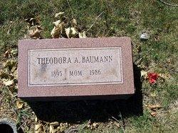 Theodora Augusta Lidia <i>Schmitt</i> Baumann