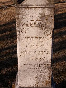 Alexander Woodruff Hedden