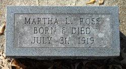 Martha L Ross