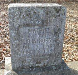Martha Alice Mattie <i>Gentry</i> Ross