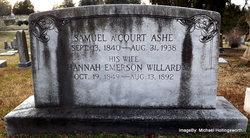 Samuel A'Court Ashe