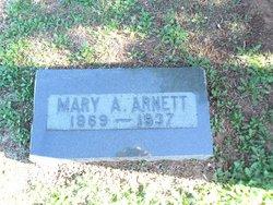 Mary A <i>Newcomb</i> Arnett