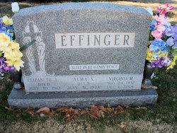 Virginia Mae <i>Logsdon</i> Effinger