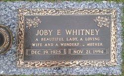 Joby E Whitney