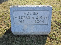 Mildred A. <i>Luther</i> Cupp - Jones