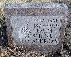Rosa Jane Andrews