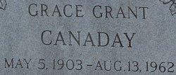 Grace <i>Grant</i> Canaday